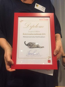 Diplomet från Royal Canin